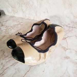 Bloch ballerina flats shoes block color  34 girls